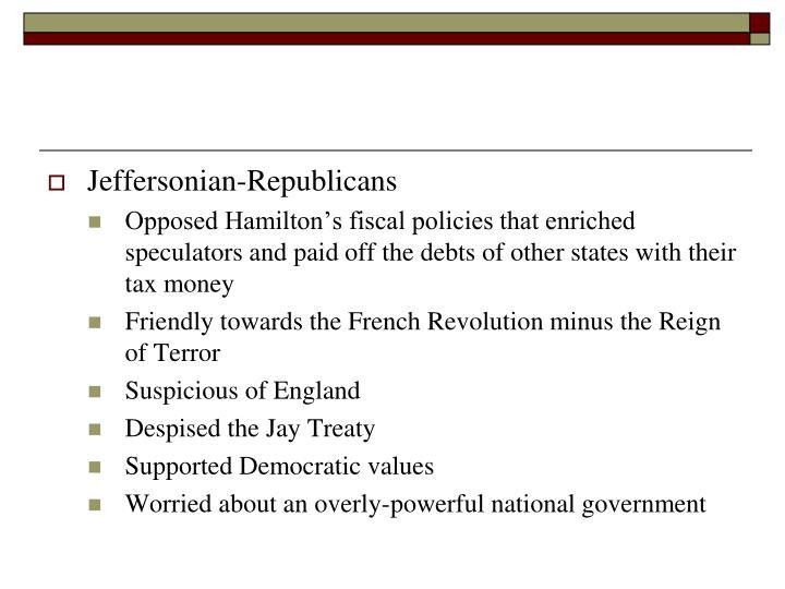 Jeffersonian-Republicans