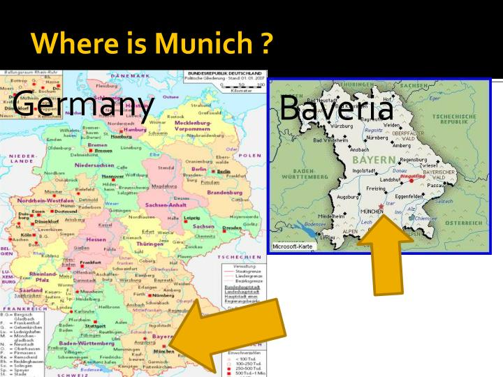 PPT Munich And Bicycle PowerPoint Presentation ID - Where is munich