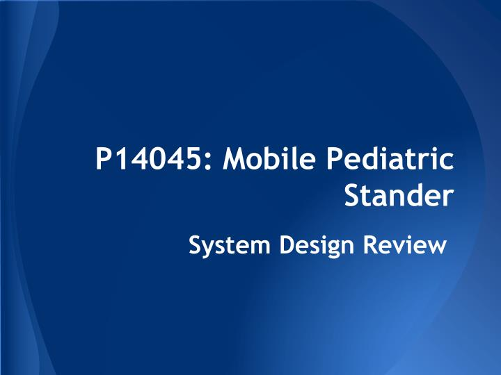 p14045 mobile pediatric stander n.
