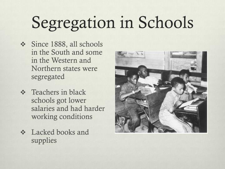 Segregation in Schools