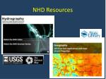nhd resources