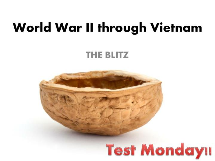 world war ii through vietnam n.