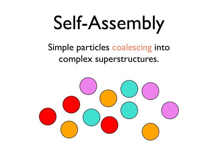 Self assembly1