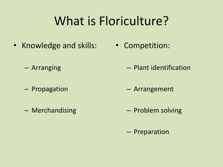 2010 state ffa floriculture problem solving test