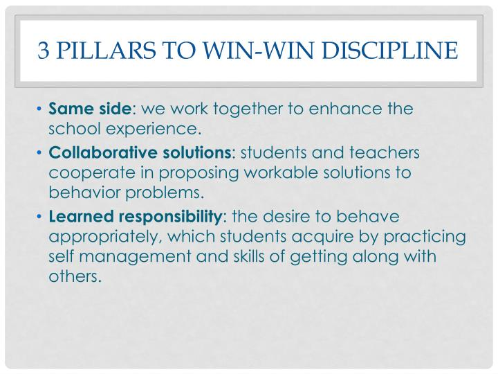 harry wong kagan kyle scott s win win discipline and morrish s real discipline Classroom management models for this assignment, focus on the group of students in your program of study complete the classroom management models chart to document the following:research the following four classroom management models: harry wong's effective classroom kagan, kyle, and scott's win-win discipline fred jones positive classroom discipline and morrishs real discipline.