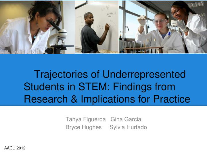 trajectories of underrepresented students in stem findings from research implications for practice n.