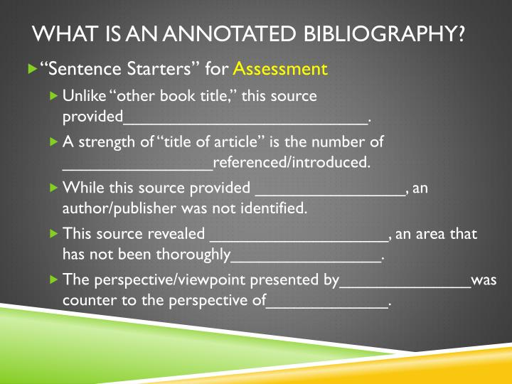annotated bibliography subject henrietta lacks An annotated bibliography is a list of sources, formatted in the documentation  style of preference, where each source is followed by a.