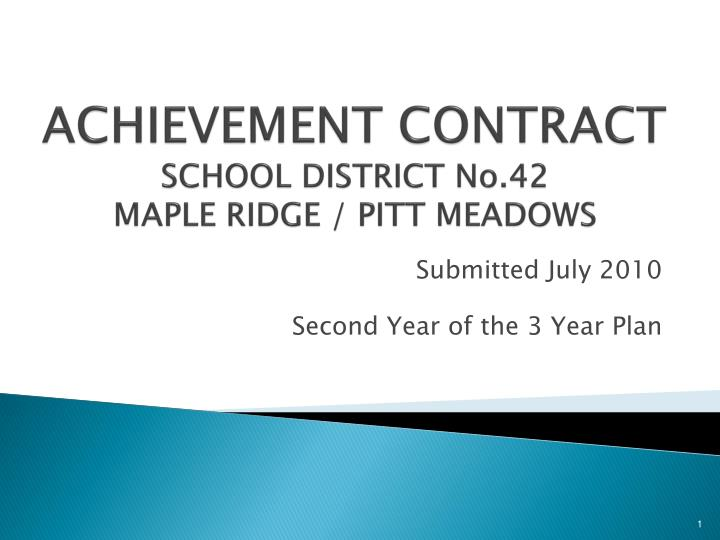 achievement contract school district no 42 maple ridge pitt meadows n.