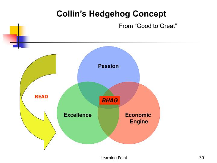Collin's Hedgehog Concept