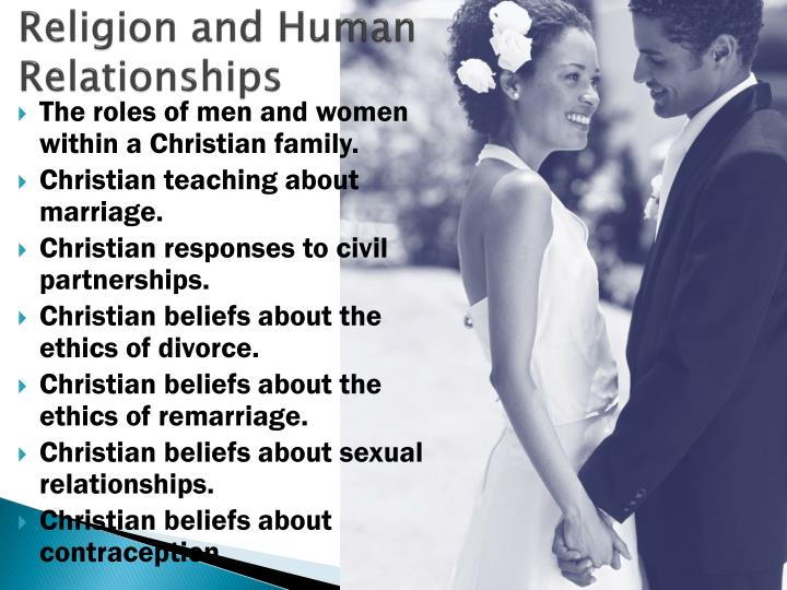 religion and human relationships n.
