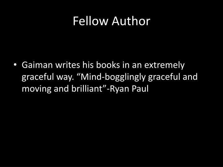Fellow Author