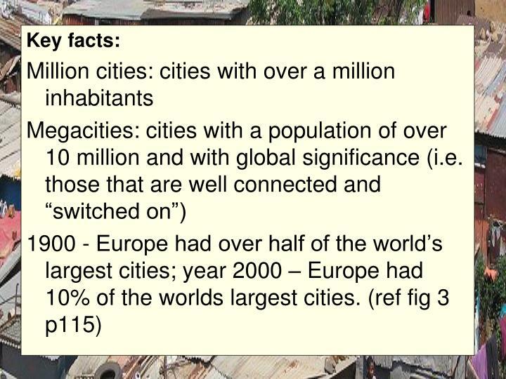 Key facts:
