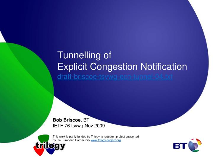 tunnelling of explicit congestion notification draft briscoe tsvwg ecn tunnel 04 txt n.