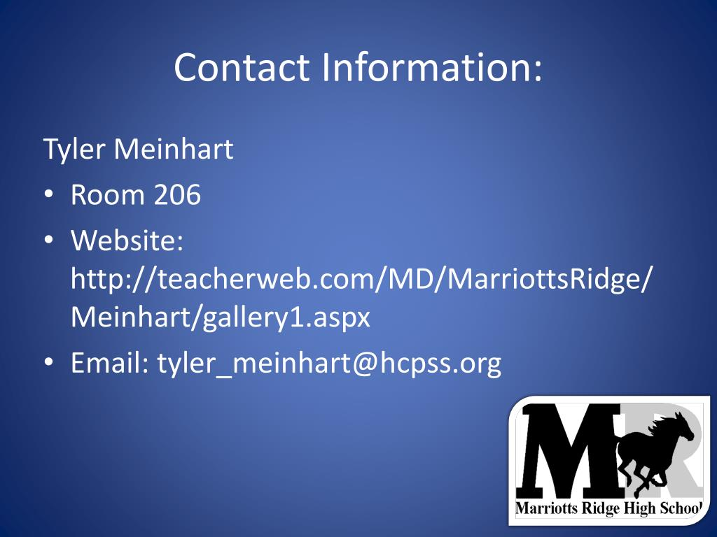 Ppt Welcome Back Mustang Parents Powerpoint Presentation Id