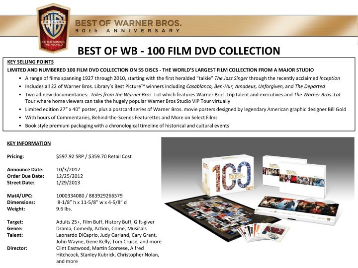 best of wb 100 film dvd collection n.