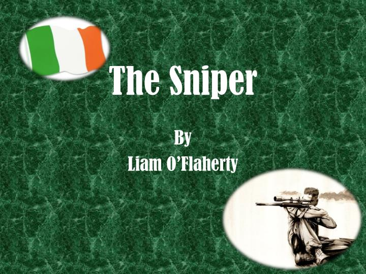 the sniper direct characterization Week two / day two lesson plan formative assessment will come from monitoring the small group discussions about characterization that follows the direct.