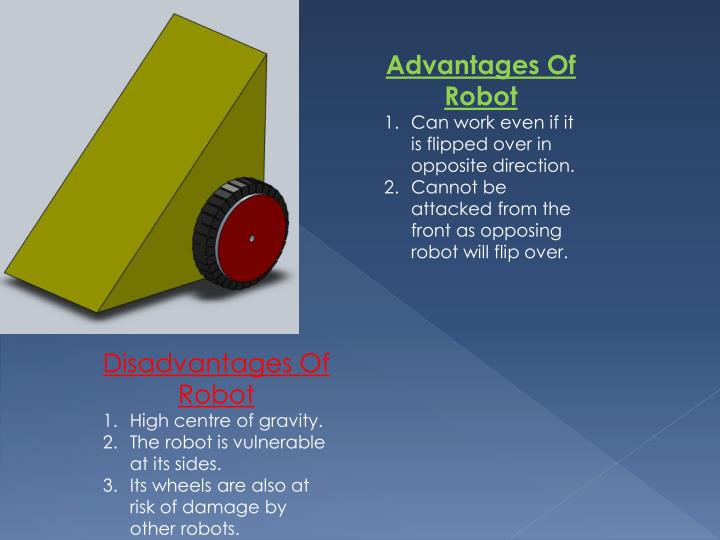 Advantages Of Robot