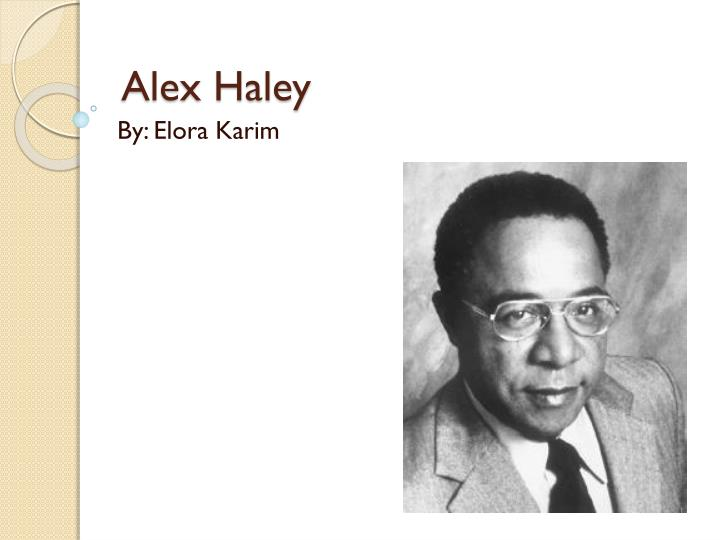 alex haley n.