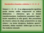 standardne situacije u sistemu 1 4 4 225