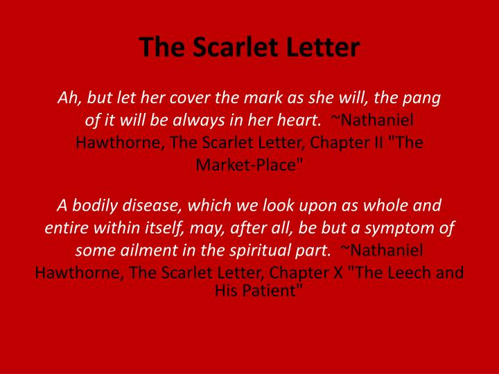 a literary analysis of the scarlet letter and its protagonist by nathaniel hawthorne Grade 11 summer reading 2015 east hill christian school novel: the scarlet letter author: nathaniel hawthorne for this assignment to be beneficial, summer reading should take place over the course of the summer the books chosen will stir the imagination and will keep the gift of reading alive.