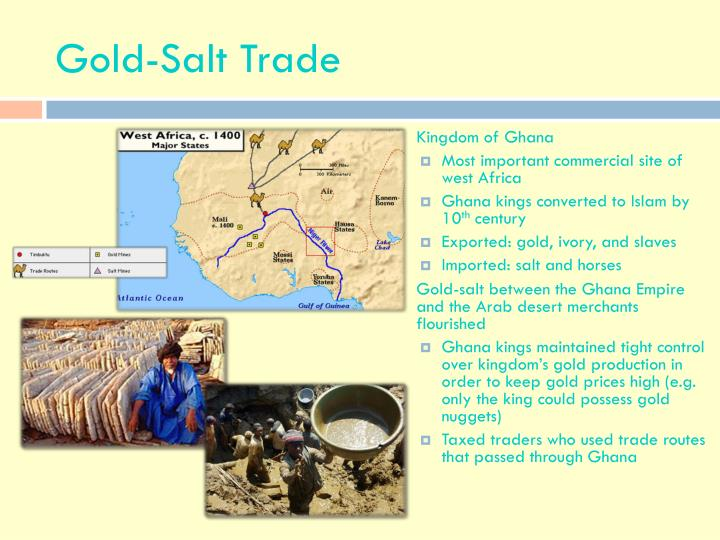 gold and salt trade