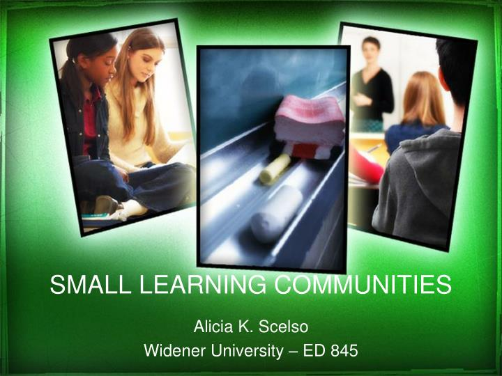 small learning communities n.