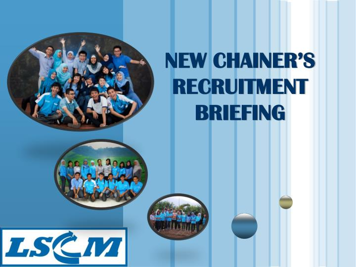 new chainer s recruitment briefing n.