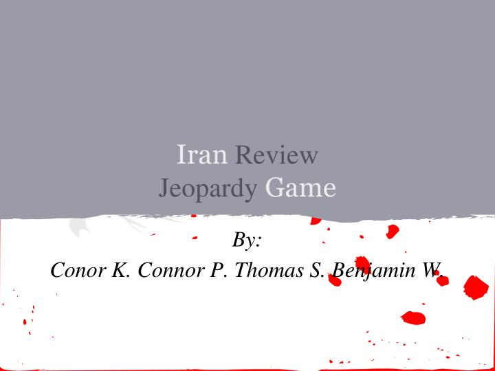 iran review jeopardy game n.