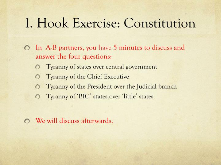 how did framers of the constitution guard against tyranny