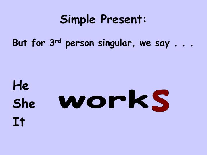English Exercises Present Simple and Plural Activities