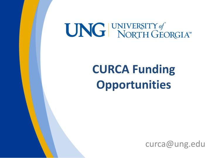 curca funding opportunities n.
