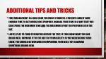additional tips and tricks2