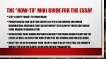 the how to mini guide for the essay5