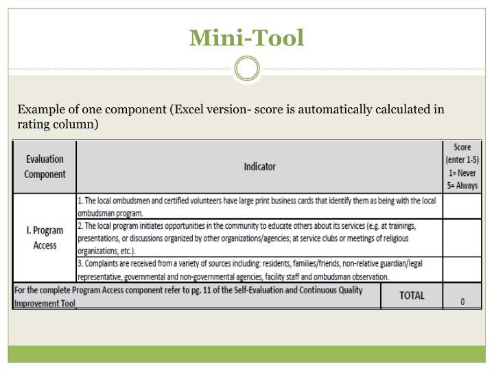 Mini-Tool