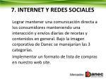 7 internet y redes sociales