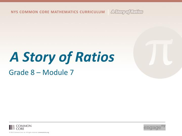 a story of ratios n.