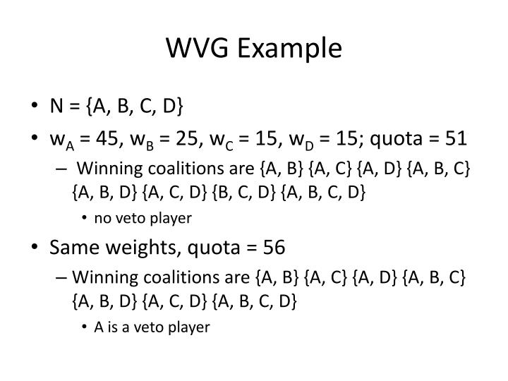 WVG Example