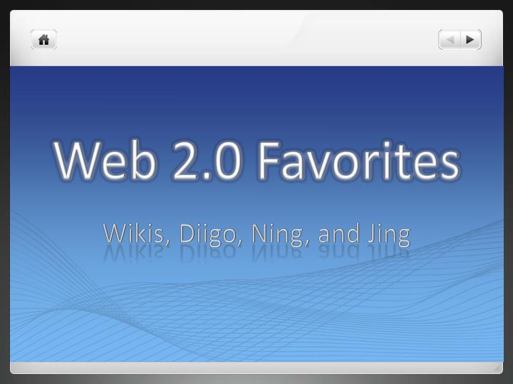 web 2 0 favorites n.