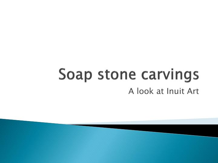soap stone carvings n.