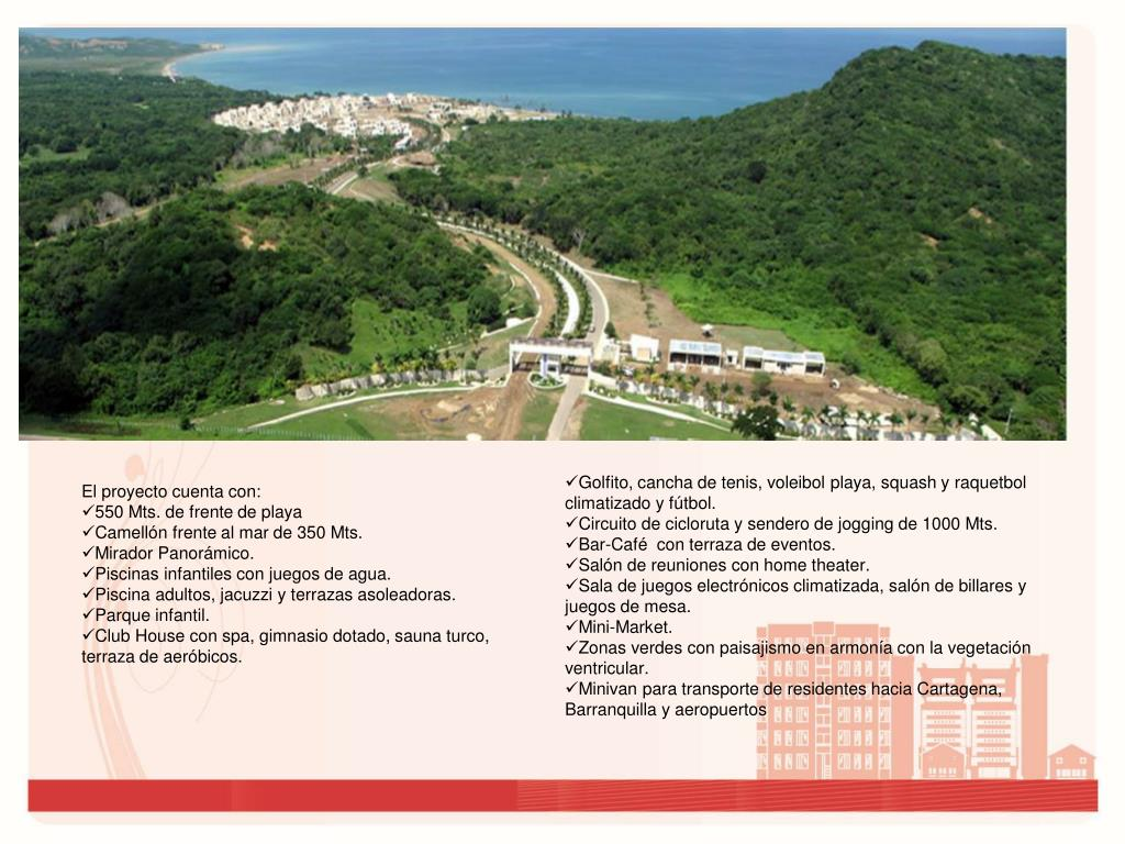 Ppt Agua Marina Beach Resort Km 64 Vía Barranquilla
