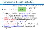 composable security definitions