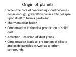 origin of planets1