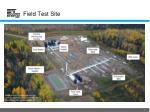 field test site