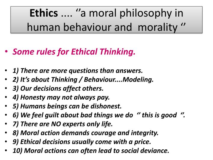ethical and moral philosophies essay There are moral philosophies that come in handy when business decisions are made by business people to ensure it falls within the realms of their morals and a.