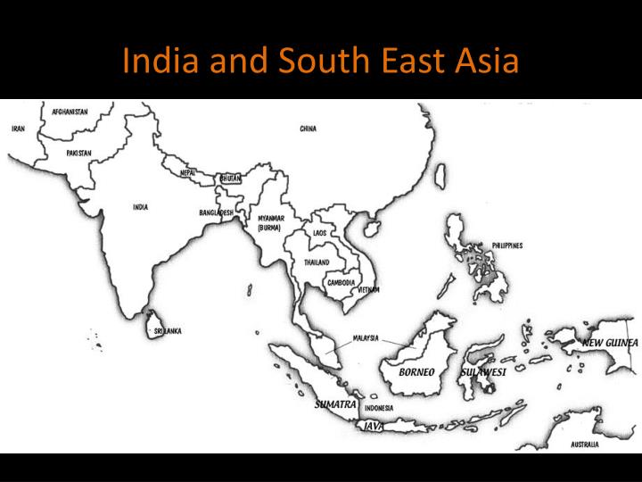india and south east asia n.