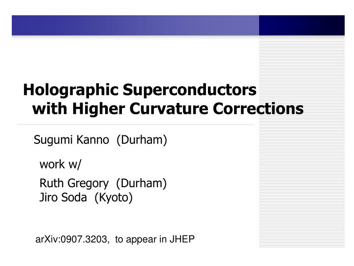holographic superconductors with higher curvature corrections n.