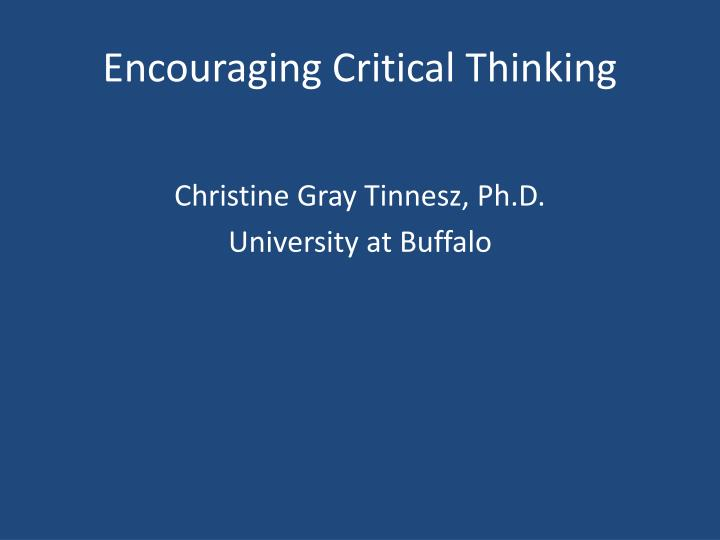ppt encouraging critical thinking powerpoint presentation id 2024633