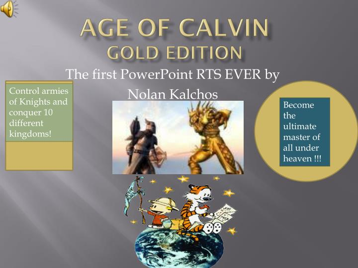 age of calvin gold edition n.