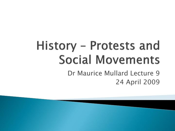 history protests and social movements n.
