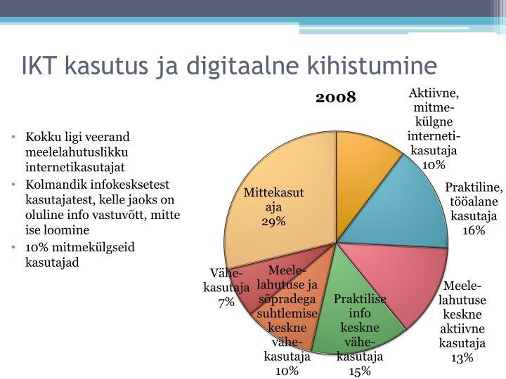 IKT kasutus ja digitaalne kihistumine
